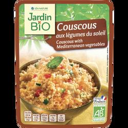 Couscous aux légumes du soleil JARDIN BIO, bocal en verre de 220g