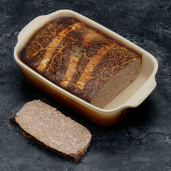 Paté croute richelieu pistache médail.mousse foie canard
