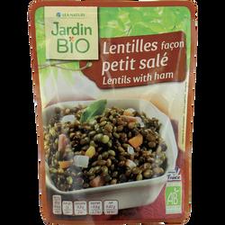 Lentilles petit salé JARDIN BIO, sachet de 250g