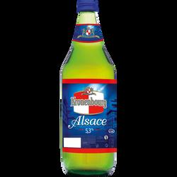 Bière blonde d'Alsace KRONENBOURG, 4.2°, bouteille de 75cl