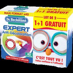 Lingette anti-décoloration microfibre DR BECKMANN, x40 + 40 offerts