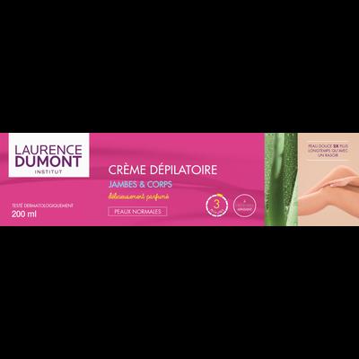 Crème dépilatoire peaux normales LAURENCE DUMONT, 200ml