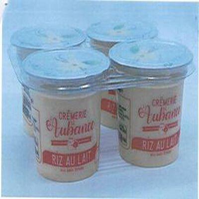 Riz au lait nature/Vanille 4x125g