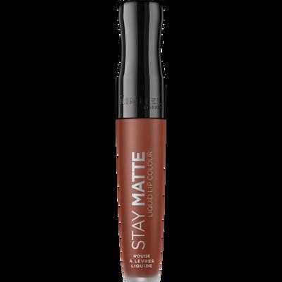 Rouge à lèvres stay matte liquid 725 RIMMEL, nu, 5,5ml