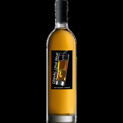 Cognac long drink GUERIN FRERES, 40°, bouteille de 70cl