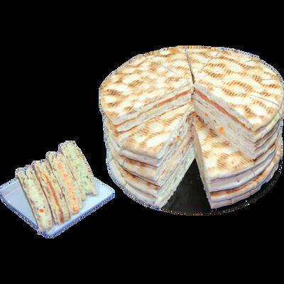 Pain surprise scandinave, COCAGNE, 48 sandwiches, 800g