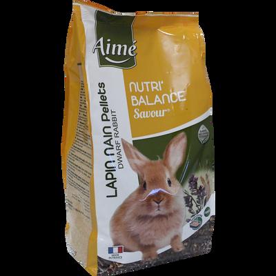 Nutri'balance savour pellets lapin nain, AIME, 900g