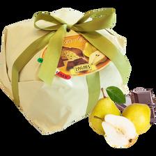Panettone Auguri poire, chocolat, ZAGHIS, 750g