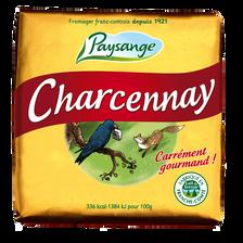 Fromage au lait pasteurisé Carré Charcenay PAYSANGE, 29% de MG, 160g
