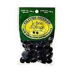olives noires aromates provence 150g le brin d'olivier