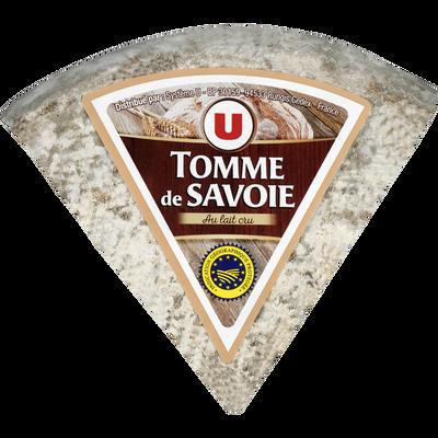 Tomme de Savoie IGP au lait cru entier U, 30%MG, 300g