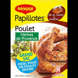 Assaisonnement pour papillotte de poulet aux herbes de Provence MAGGI,34g