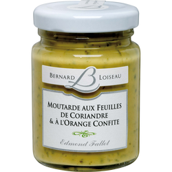 Moutarde coriandre et orange confite EDMOND FALLOT, 10CL