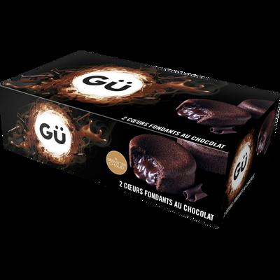 Coeur fondant au chocolat GÜ, 2x100g