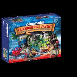 Playmobil - Calendrier de l'avent Pirates - 70322 - Dès 5 ans