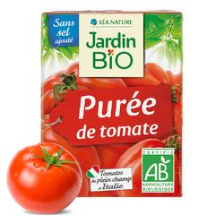 Purée de tomates sans sel ajouté JARDIN BIO 200g