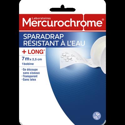 Sparadrap resist.eau 7mx2,5cm MERCUROCHROME