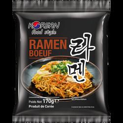 Nouilles ramen boeuf, KOREAN FOOD STYLE, sachet de 170g