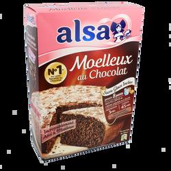 Préparation pour gâteau au chocolat Mamie Gâteau ALSA, 435g