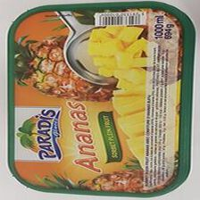 Sorbet PARADIS 1L, parfum ananas confit/ananas