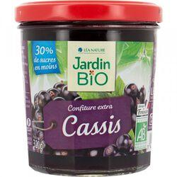CONFITURE CASSIS JARDIN BIO