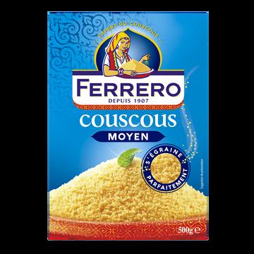 Ferrero Couscous Couscous Grains Moyens Ferrero, 500g