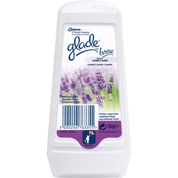 Désodorisant en gel longue durée parfum lavande GLADE BY BRISE
