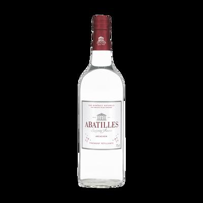 Eau minérale gazeuse ABATILLES, bouteille en verre 75cl