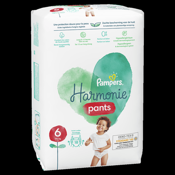 Pampers Culottes Harmonie Pants Geant Pampers Taille 6 X18