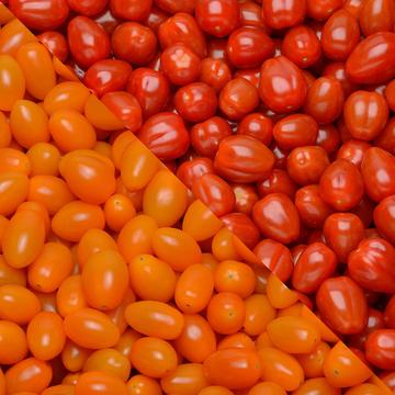 Savéol Tomate Méli Mélo Cerise Ronde/allongée, Segment Les Cerises Rondes Etallongées, Catégorie Extra, Barquet.350g