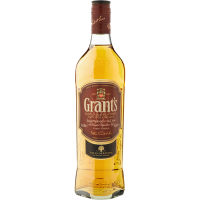 Blended Scotch whisky GRANT'S, 40°, 70cl