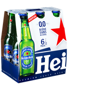 Heineken Bière Sans Alcool Heineken, 0,00°, 6 Bouteilles De 25cl