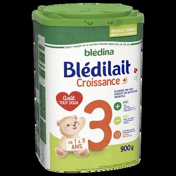 Blédina Lait De Croissance En Poudre Bledilait, Dès 12 Mois, Boîte De 900g
