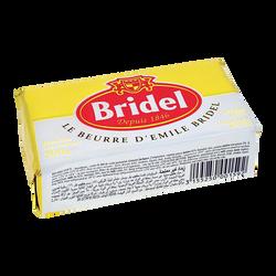 Beurre doux BRIDEL, plaquette 250g