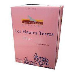 Vin Rosé Les Hautes Terres - VIGNOBLE D'AGLY - BIB de 5L