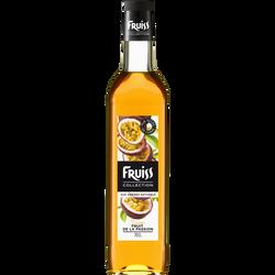 Sirop à la passion FRUISS COLLECTION, bouteille de 70cl