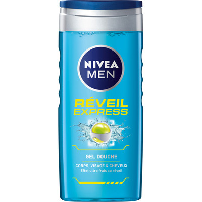 Gel douche Réveil Express NIVEA BATH CARE, flacon de 250ml