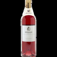 Vin rosé IGP Ardèche Syrah U SAVEURS, 75cl