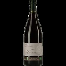 Santenay AOP rouge Domaine Jean-Géno Musso, bouteille de 75cl