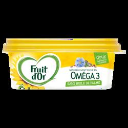 Matière grasse allége à tartiner et à cuire, enrichie en vitamine D, aux huiles 100% végétales 50%mg FRUIT D'OR doux 225g