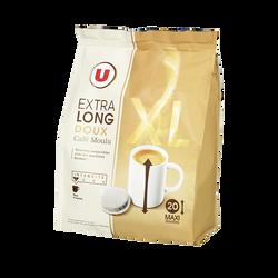 Café doux XL U x20 dosettes