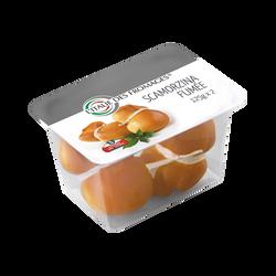 Fromage au lait thermisé 26% de MG, Scamorzina fumée L'ITALIE DES FROMAGES, 250g