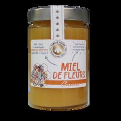 Miel fleurs crémeux LES APICULTEURS ASSOCIES pot en verre 400g