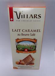 CHOCOLAT AU LAIT  SUISSE FOURRE CARAMEL 150G VILARS