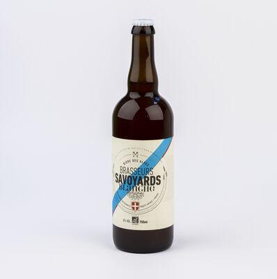 Bière blanche bio BRASSEURS SAVOYARDS, bouteille de 75cl