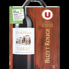 Vin rouge AOP Buzet Roc de Breyssac U, fontaine à vin de 3l