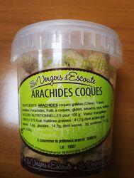 ARACHIDES COQUES 180G