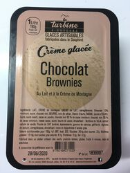 GLACE ARTISANALE CHOCO NOIR BROWNIES