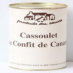 Cassoulet au confit de canard, Produits du causse, 450g
