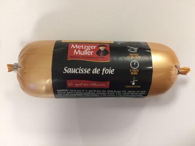 Saucisse de foie BA Gold - 250g